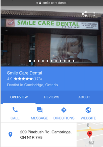 Emergency Dentist at Smile Care Dental in Cambridge, Ontario