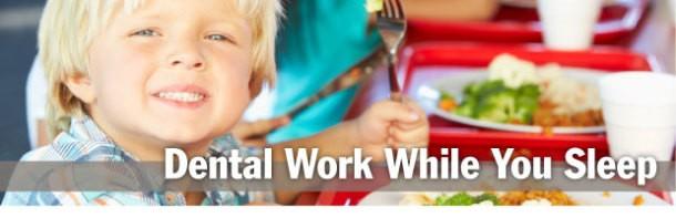 Smile Care Dental's Dental Work While You Sleep Service