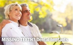 Missing teeth? Dental Implants