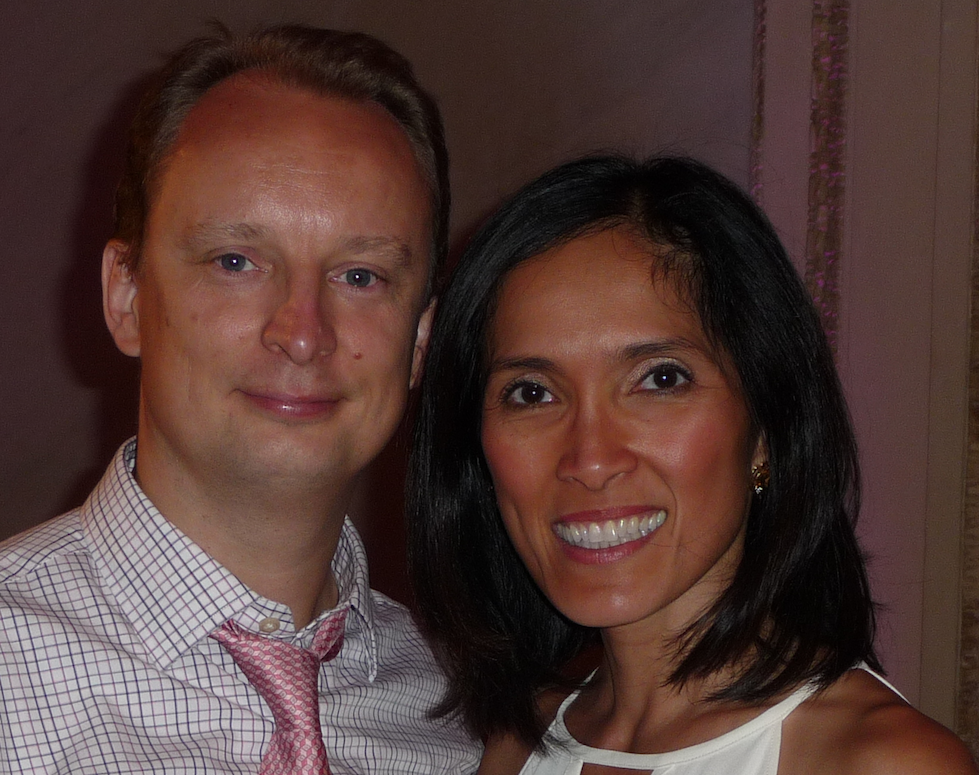 Dr. Adam Szymczak and Dr. Joanne Baldos