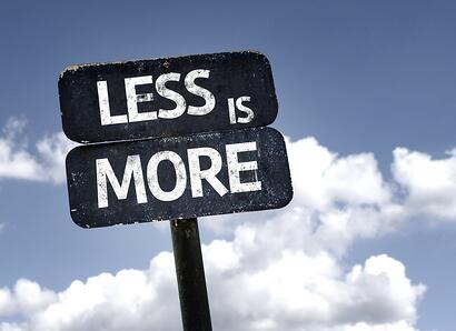 The Best Dentist Believes and acts on the concept of Less is More